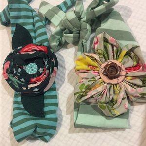 2 beautiful Matilda Jane headbands